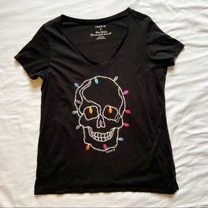 Torrid Limited Edition Skull Light Top